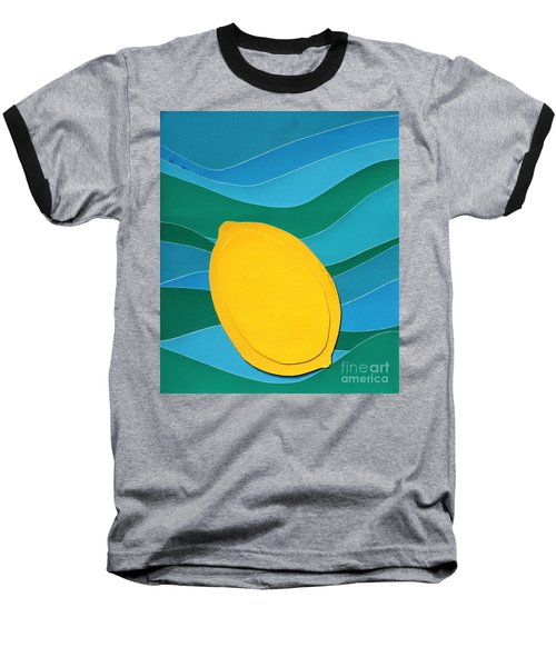 Lemon Slice Baseball T-Shirt