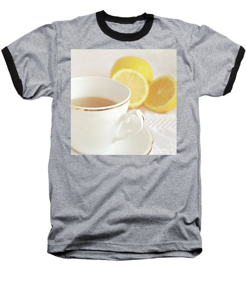 Baseball T-Shirt featuring the photograph Lemon Tea by Lyn Randle