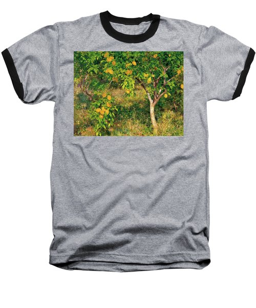Baseball T-Shirt featuring the painting Lemon Tree by Henry Scott Tuke