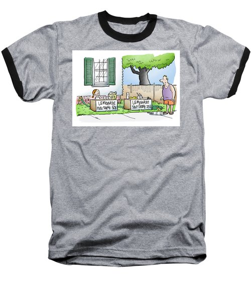 Lemonade Stand Baseball T-Shirt