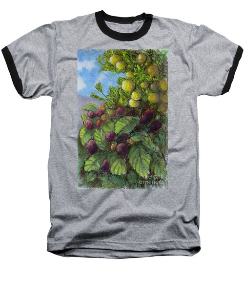 Lemons And Berries Baseball T-Shirt
