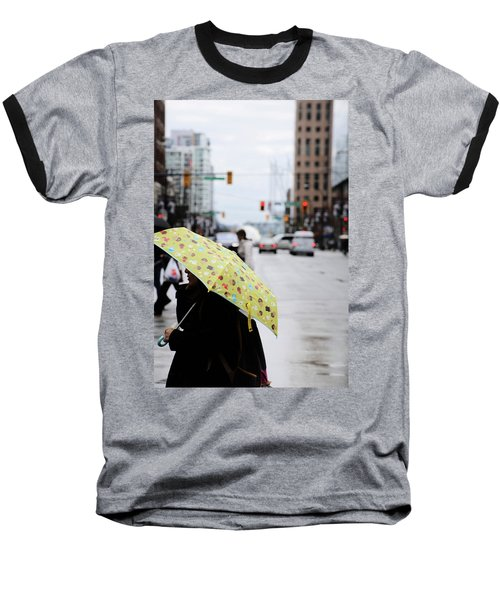 Lemons And Rubber Boots  Baseball T-Shirt by Empty Wall