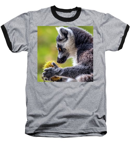 Lemur And Sweet Chestnut Baseball T-Shirt