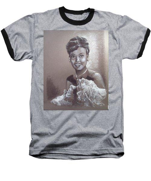 Lena Horne Baseball T-Shirt