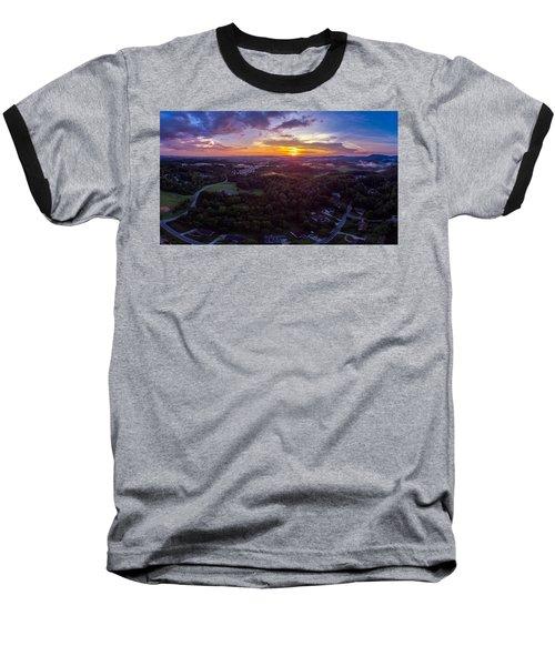 Lenoir North Carolina  Sunset Baseball T-Shirt