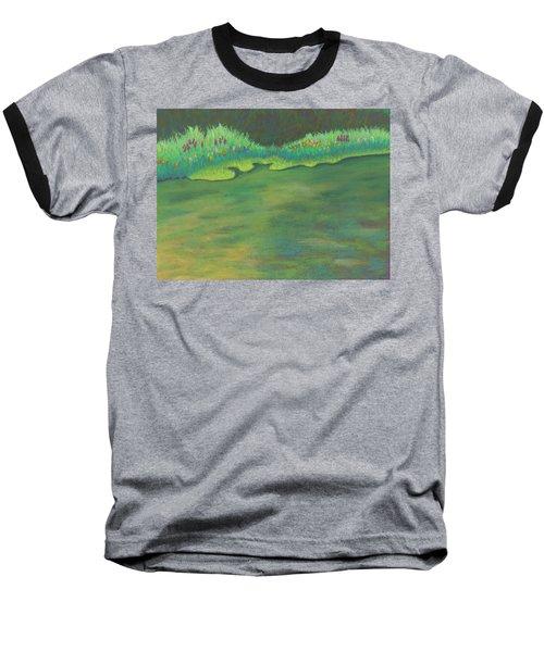 Lenox Audubon Pond 3 Baseball T-Shirt