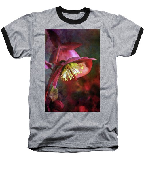 Lenten Rose Bowing To The Sun 8712 Idp_2 Baseball T-Shirt