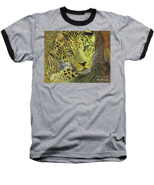 Leopard Gaze Baseball T-Shirt