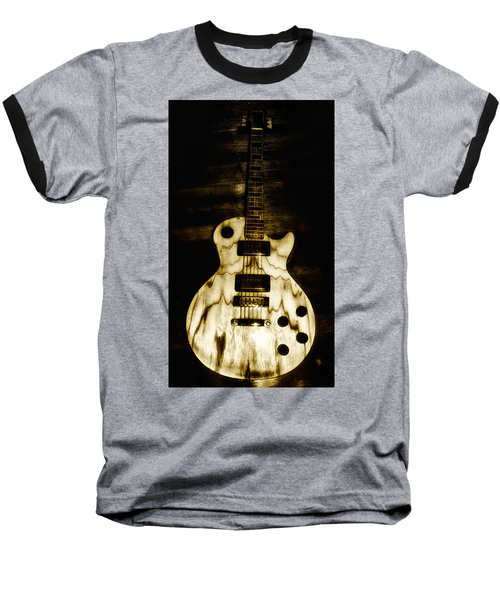 Les Paul Guitar Baseball T-Shirt