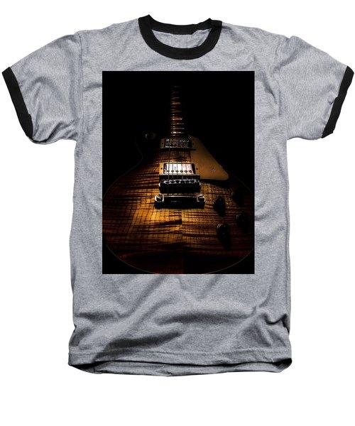 Burst Top Guitar Spotlight Series Baseball T-Shirt