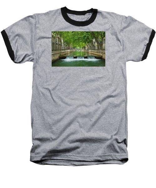 Les Quais De La Fontaine Baseball T-Shirt