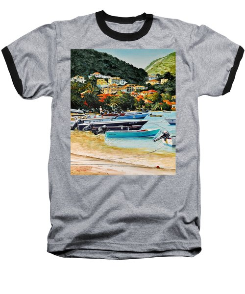 Les Saintes, French West Indies Baseball T-Shirt