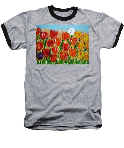 Les Tulipes - The Tulips Baseball T-Shirt