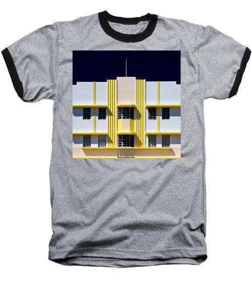 Leslie Hotel Baseball T-Shirt