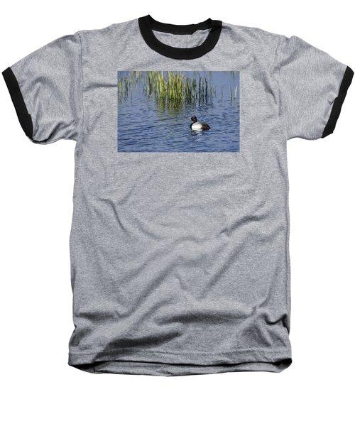 Lesser Scaup Adult Male Baseball T-Shirt