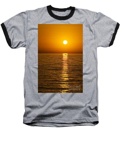 Lesvos Sunset Baseball T-Shirt
