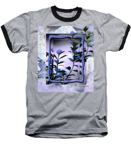 Baseball T-Shirt featuring the digital art Let Free The Pain by Vicki Ferrari
