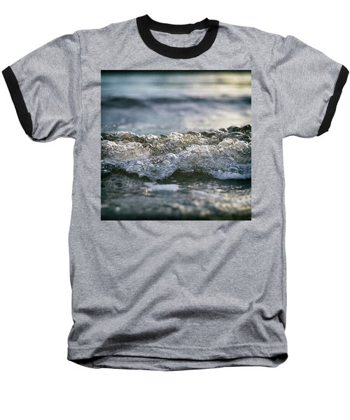 Baseball T-Shirt featuring the photograph Let It Come To You by Laura Fasulo