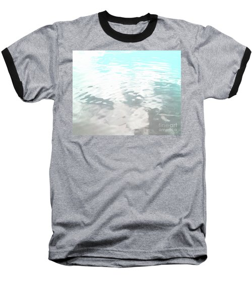 Baseball T-Shirt featuring the photograph Let It Flow by Rebecca Harman