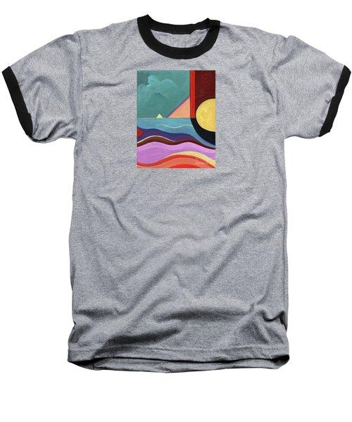Let It Shine Baseball T-Shirt by Helena Tiainen
