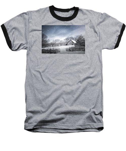 Let It Snow Baseball T-Shirt