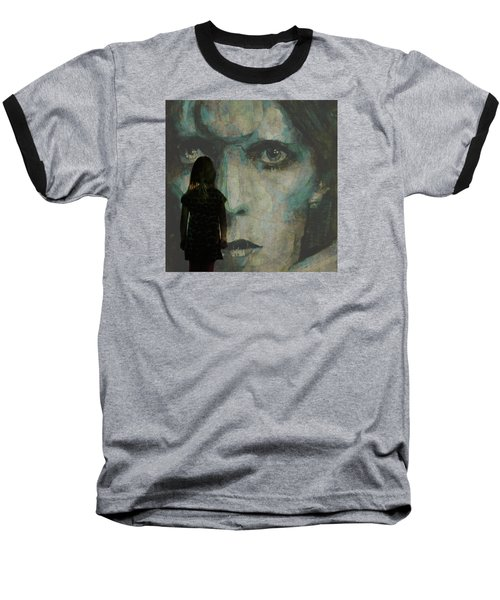 Baseball T-Shirt featuring the painting Let The Children Lose It Let The Children Use It Let All The Children Boogie by Paul Lovering