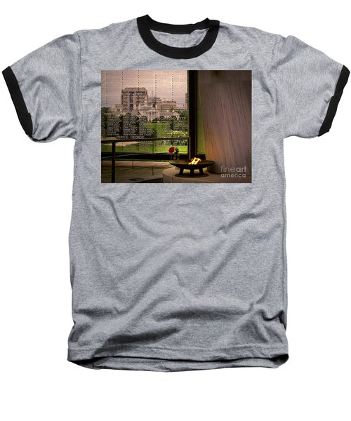 Baseball T-Shirt featuring the photograph Let The Flame Never Die by Melissa Messick