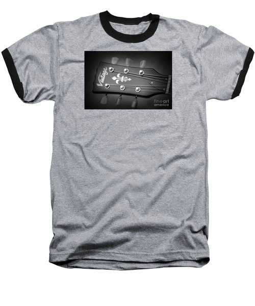 Let The Music Play Baseball T-Shirt by Stephen Melia