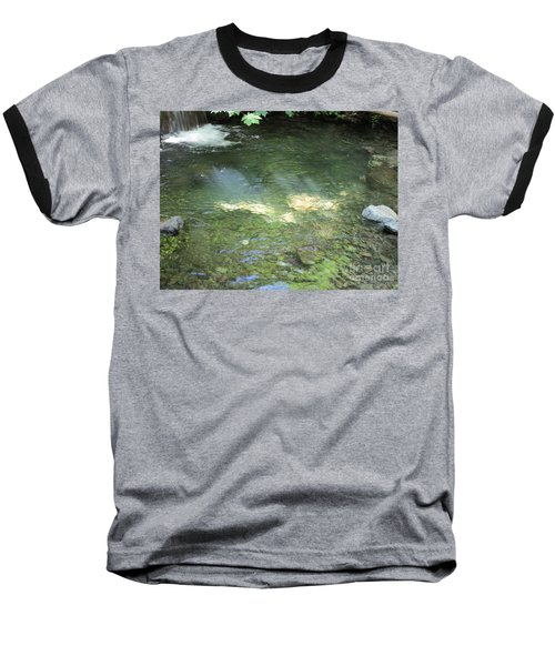 Baseball T-Shirt featuring the photograph Let The Sunshine by Marie Neder