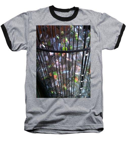 Let Them Loose Baseball T-Shirt by Pamela Walrath