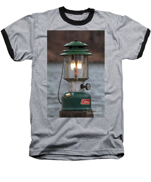 Baseball T-Shirt featuring the photograph Let There Be Light - D010029 by Daniel Dempster