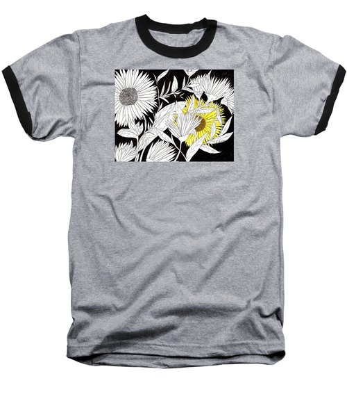 Baseball T-Shirt featuring the drawing Let Your Light Shine by Lou Belcher