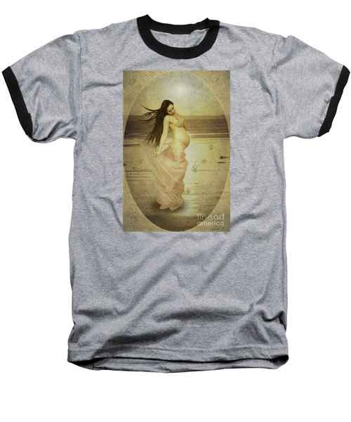 Let Your Soul And Spirit Fly Baseball T-Shirt by Linda Lees