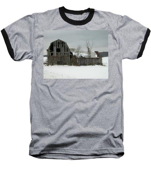 Letchworth Barn 0077b Baseball T-Shirt