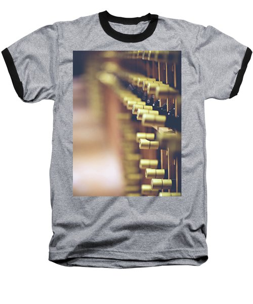 Baseball T-Shirt featuring the photograph Let's Crack One Open by Trish Mistric