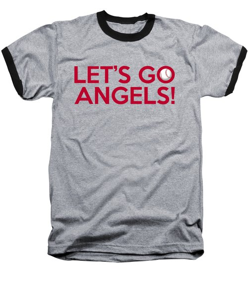 Let's Go Angels Baseball T-Shirt