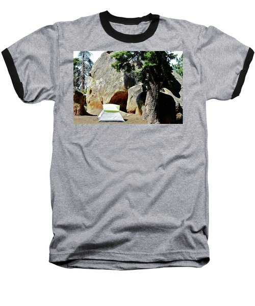 Let's Go Camping Baseball T-Shirt
