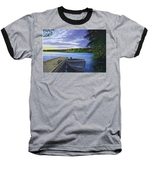 Let's Go Fishing Baseball T-Shirt