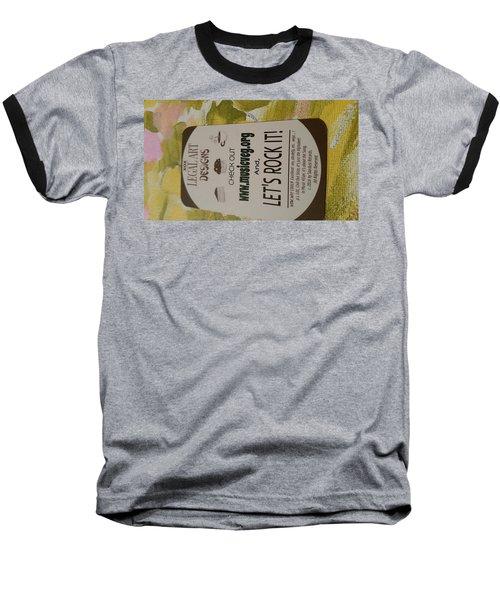 Let's Rock It Baseball T-Shirt by Silvana Vienne