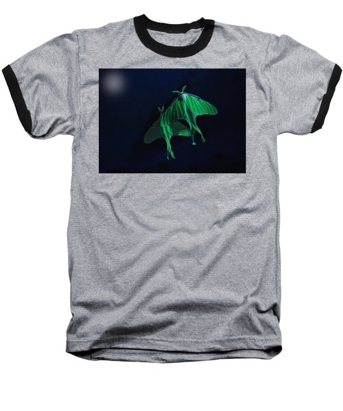 Baseball T-Shirt featuring the photograph Let's Swim To The Moon by Susan Capuano
