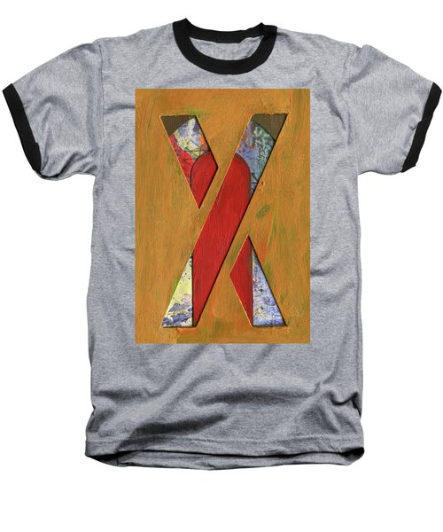 Letter X Baseball T-Shirt