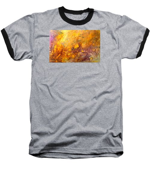 Letting The Sunshine In Baseball T-Shirt by Valerie Travers
