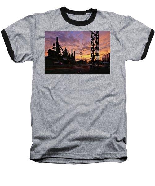 Baseball T-Shirt featuring the photograph Levitt Pavilion by DJ Florek