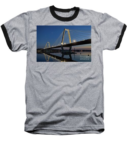 Baseball T-Shirt featuring the photograph Lewis And Clark Bridge - D009999 by Daniel Dempster