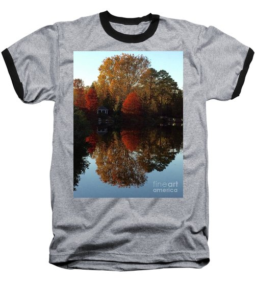 Lewis Ginter Fall Foliage Baseball T-Shirt