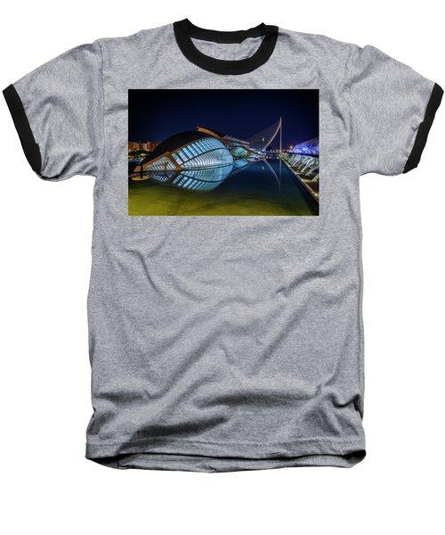 L'hemisferic In Valencia Baseball T-Shirt