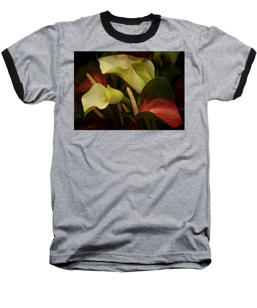 Li Ly Land Baseball T-Shirt by Richard Cummings