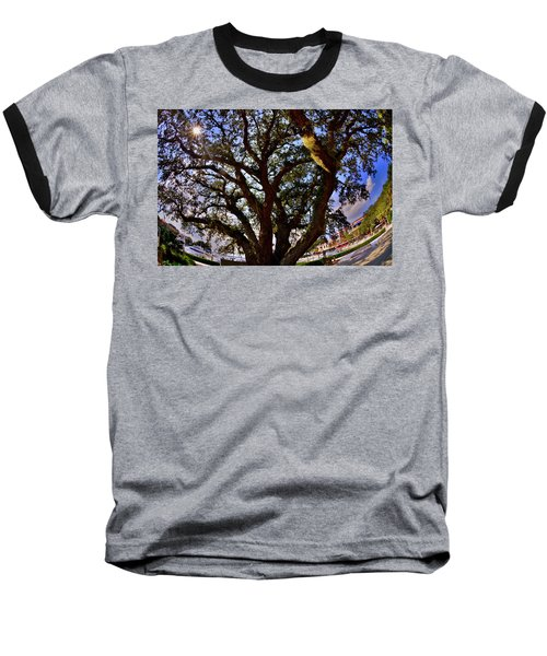 Liberty Oak Harbour Town Hilton Head Sc Baseball T-Shirt