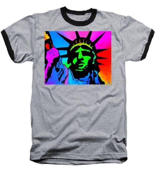 Liberty Of Colors - Saturated Baseball T-Shirt