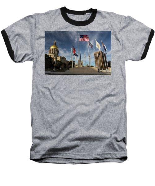 Liberty Plaza Baseball T-Shirt